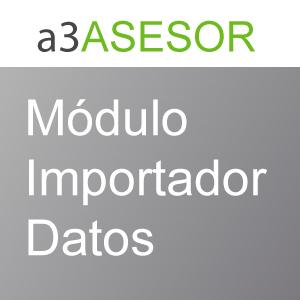 Módulo importador de datos